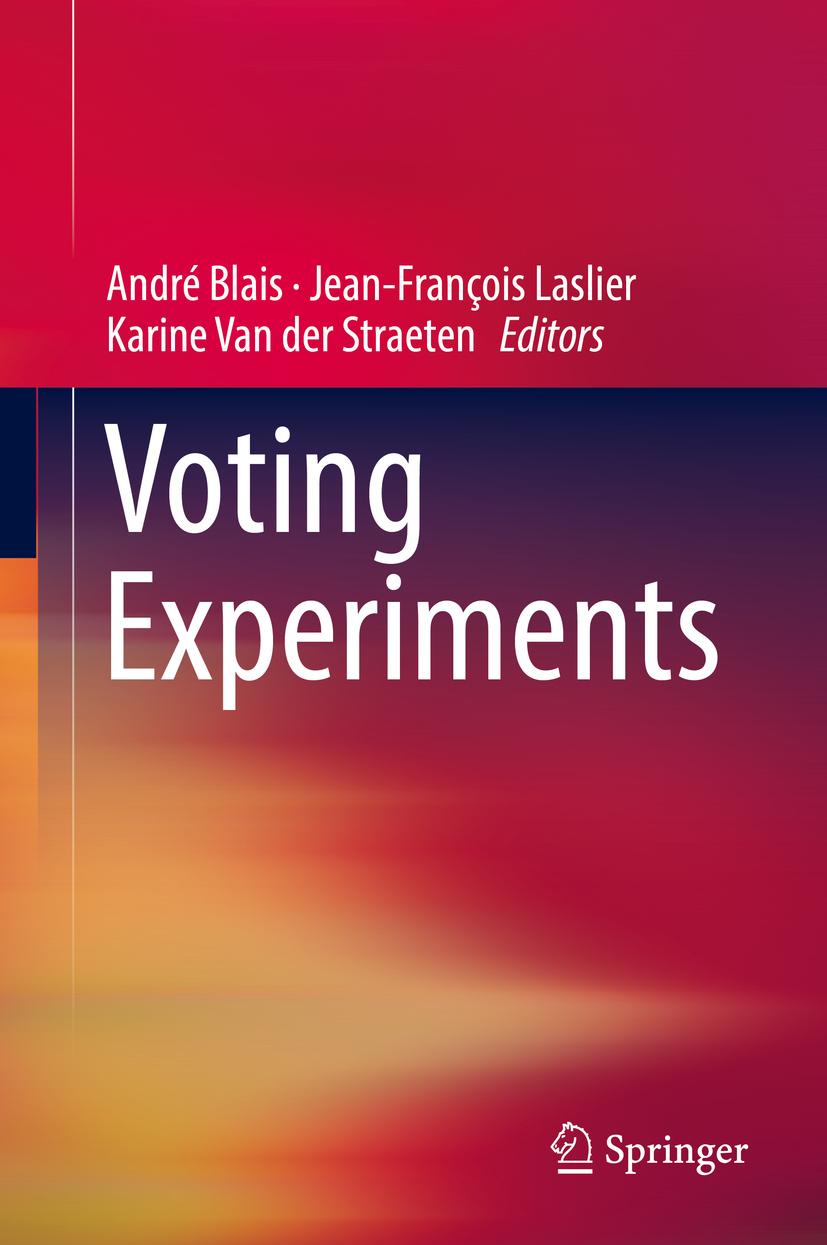 Blais, André - Voting Experiments, ebook