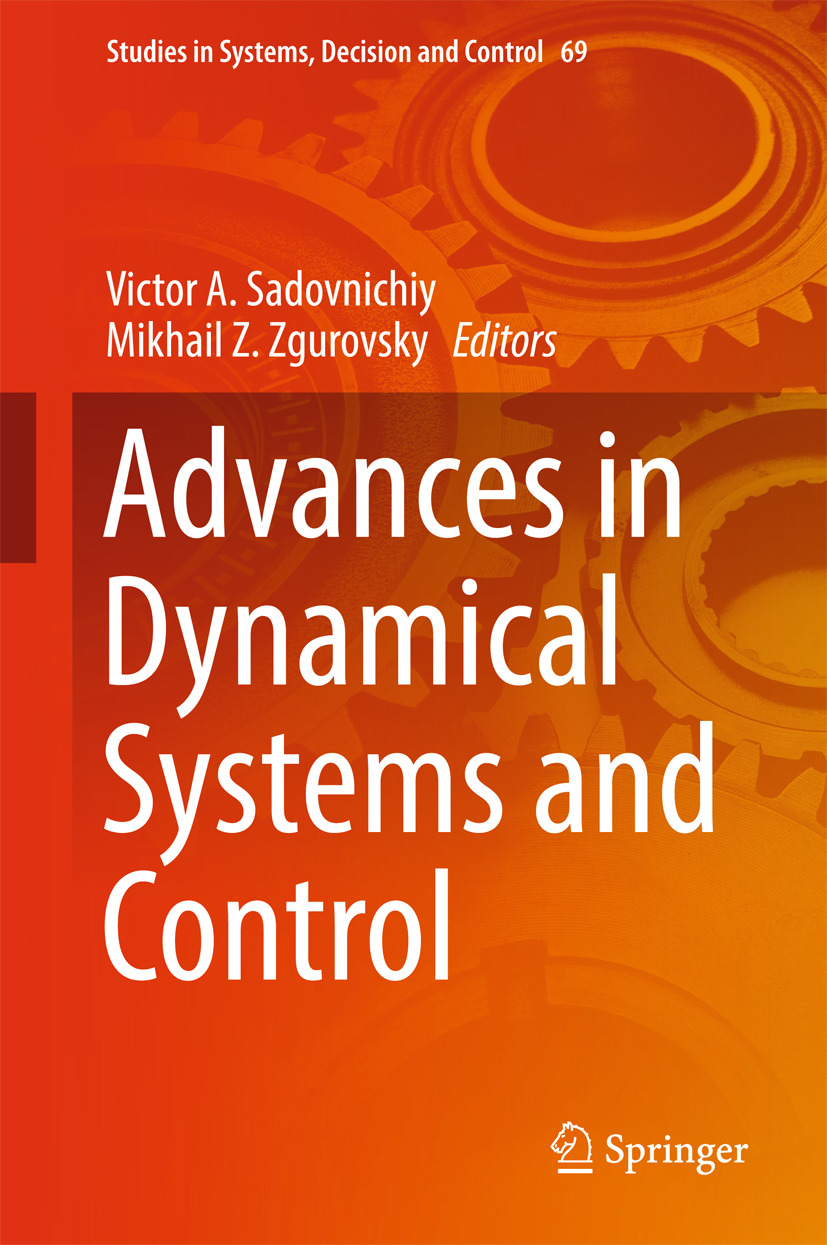 Sadovnichiy, Victor A. - Advances in Dynamical Systems and Control, e-bok