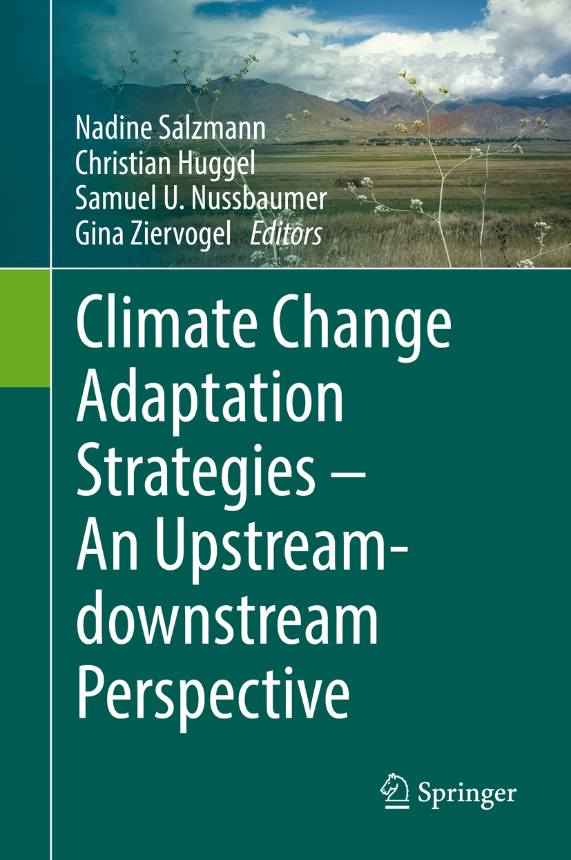 Huggel, Christian - Climate Change Adaptation Strategies – An Upstream-downstream Perspective, ebook