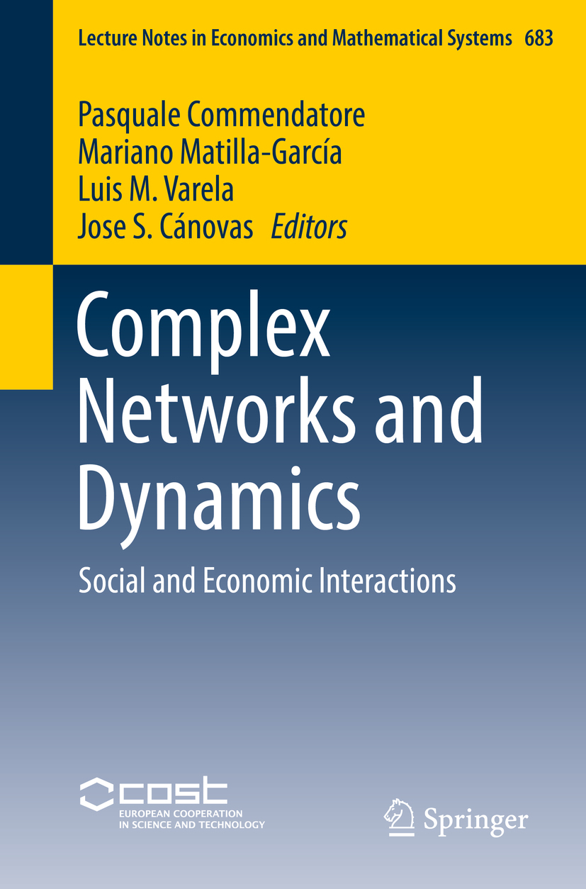 Commendatore, Pasquale - Complex Networks and Dynamics, ebook