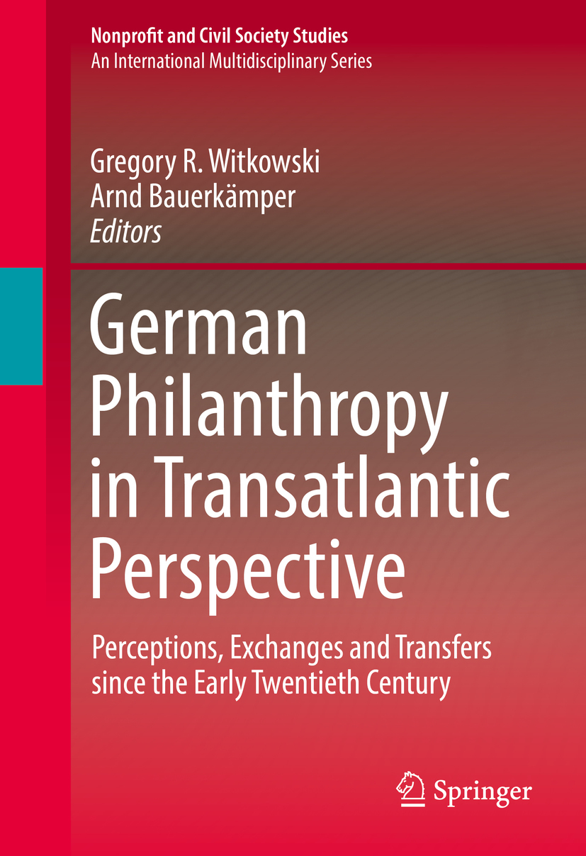 Bauerkämper, Arnd - German Philanthropy in Transatlantic Perspective, ebook