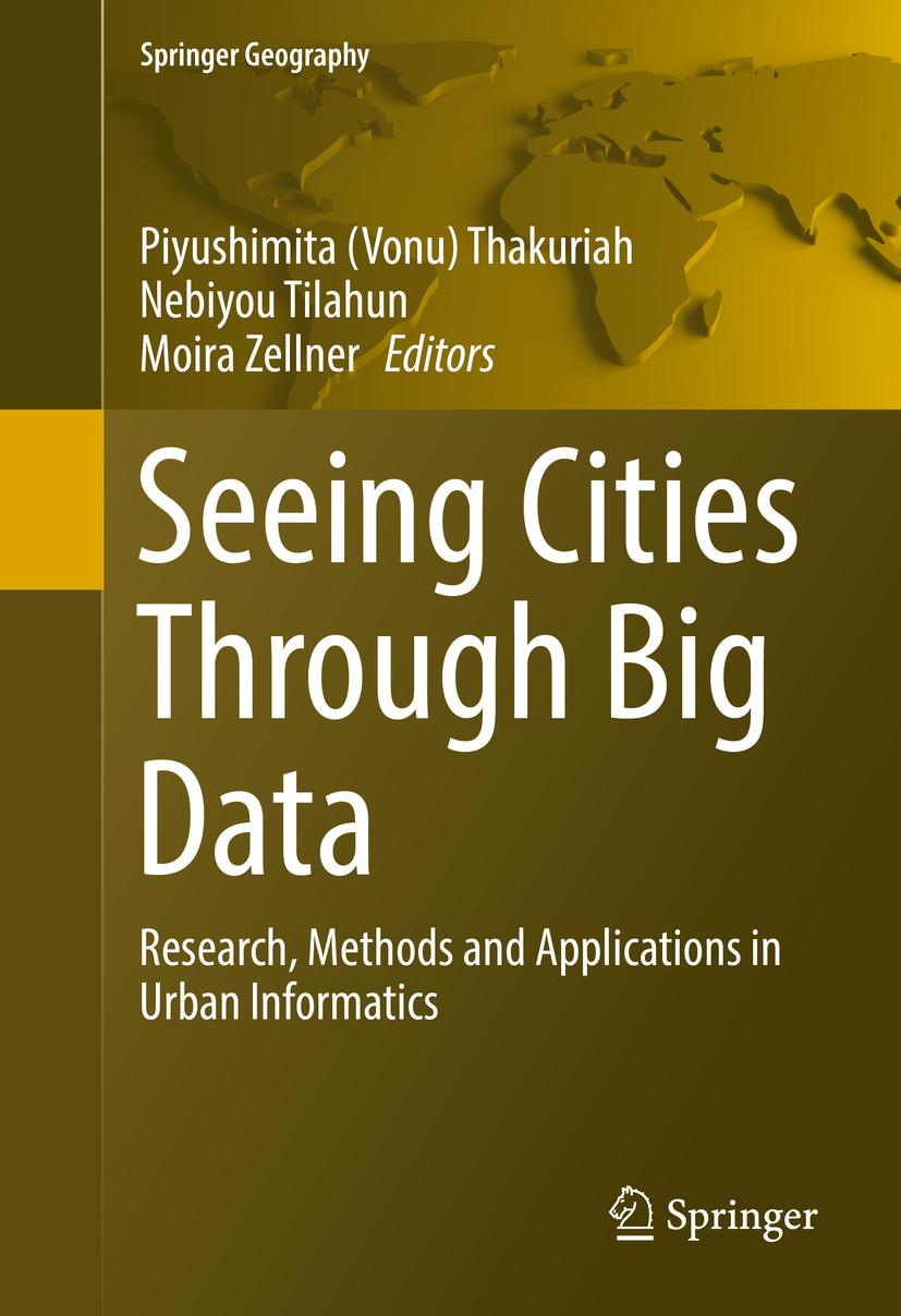 Thakuriah, Piyushimita (Vonu) - Seeing Cities Through Big Data, ebook
