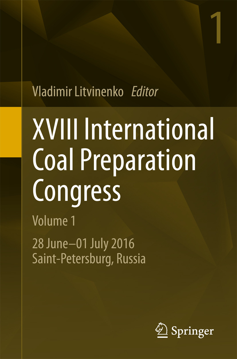 Litvinenko, Vladimir - XVIII International Coal Preparation Congress, ebook