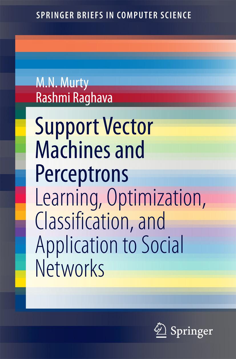 Murty, M.N. - Support Vector Machines and Perceptrons, e-kirja
