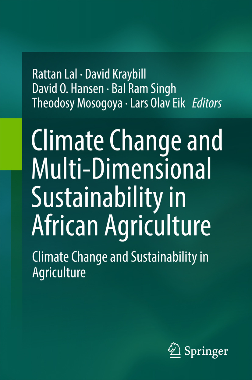 Eik, Lars Olav - Climate Change and Multi-Dimensional Sustainability in African Agriculture, e-bok