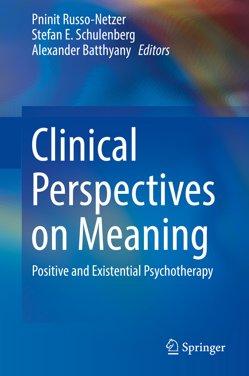 Batthyany, Alexander - Clinical Perspectives on Meaning, ebook