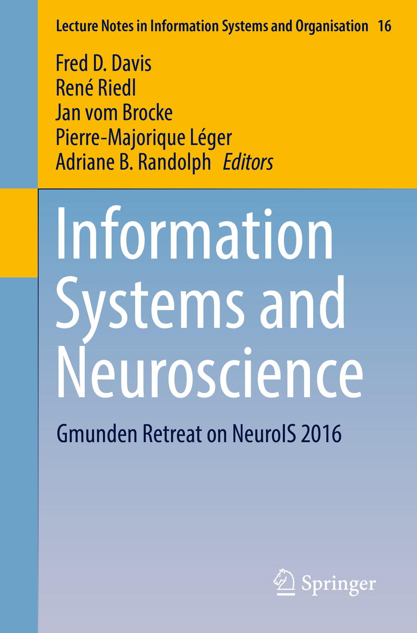 Brocke, Jan vom - Information Systems and Neuroscience, ebook