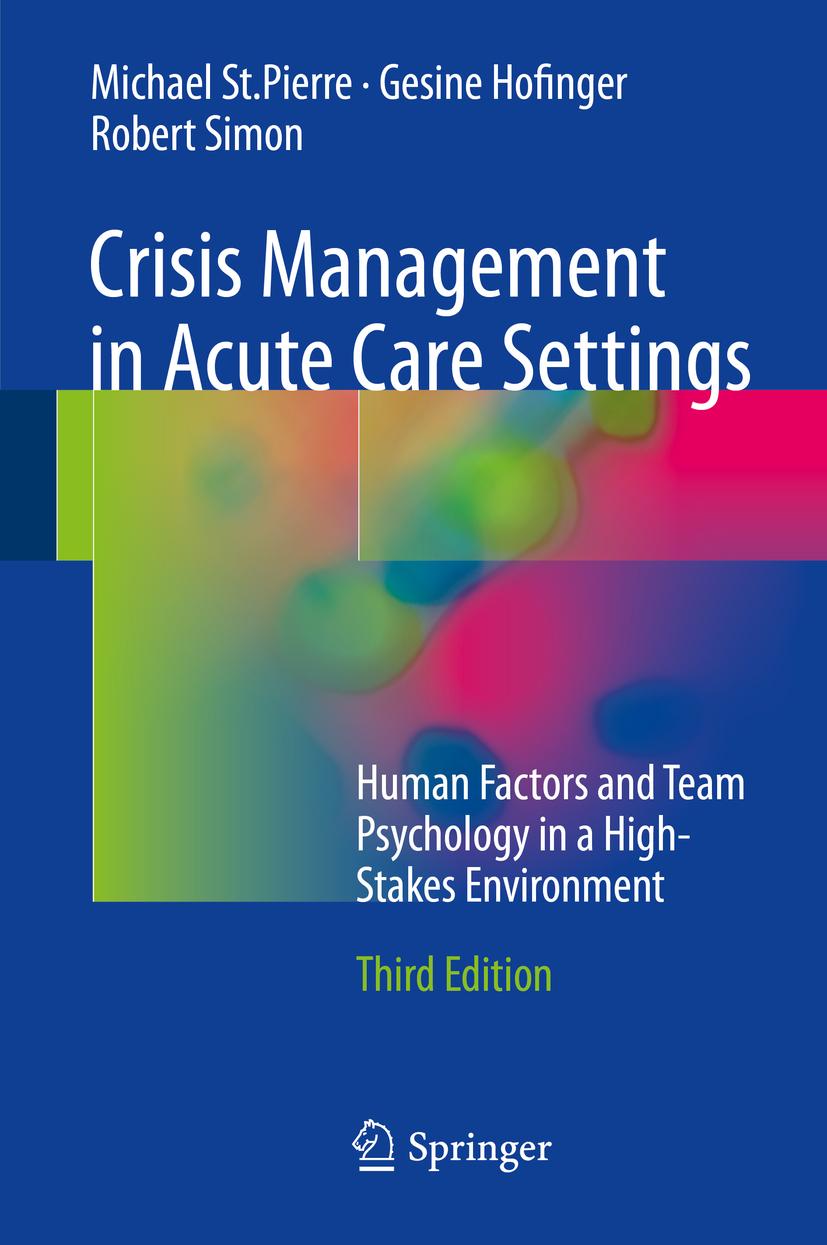 Hofinger, Gesine - Crisis Management in Acute Care Settings, ebook