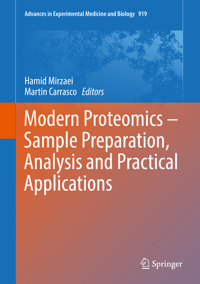 Carrasco, Martin - Modern Proteomics – Sample Preparation, Analysis and Practical Applications, ebook