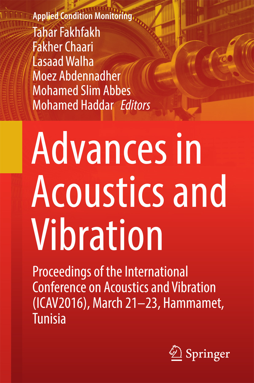 Abbes, Mohamed Slim - Advances in Acoustics and Vibration, ebook