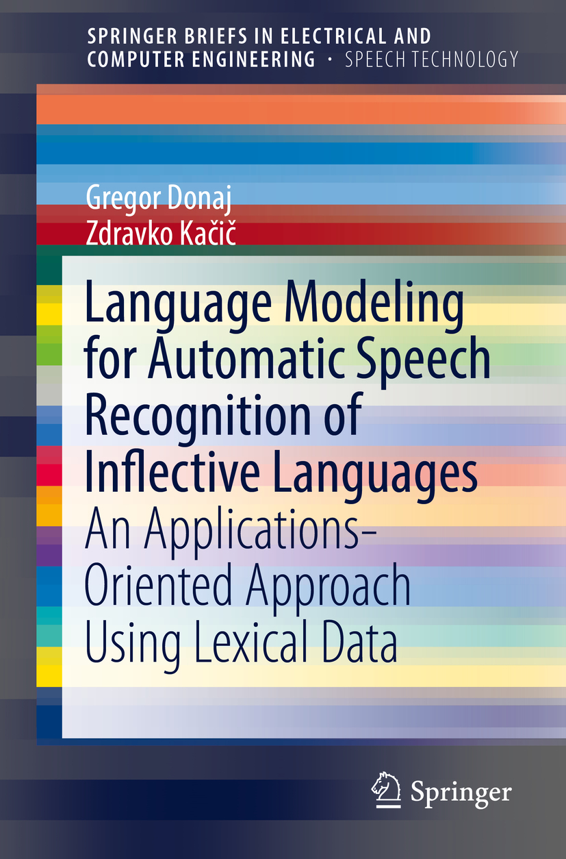 Donaj, Gregor - Language Modeling for Automatic Speech Recognition of Inflective Languages, ebook