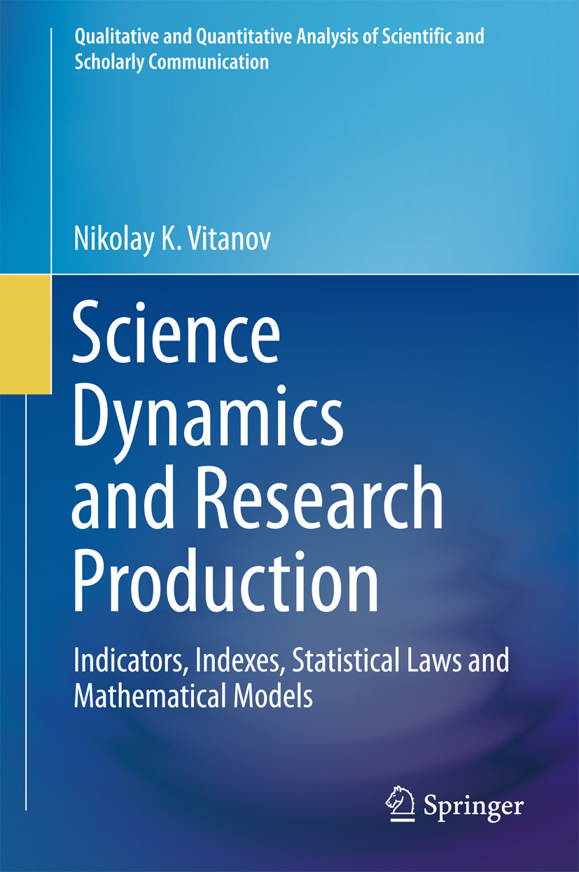 Vitanov, Nikolay K. - Science Dynamics and Research Production, ebook