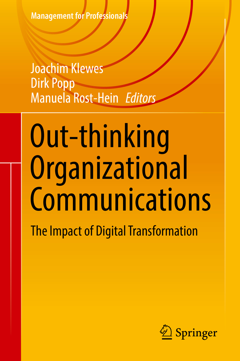 Klewes, Joachim - Out-thinking Organizational Communications, ebook