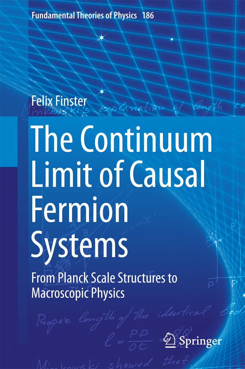 Finster, Felix - The Continuum Limit of Causal Fermion Systems, ebook