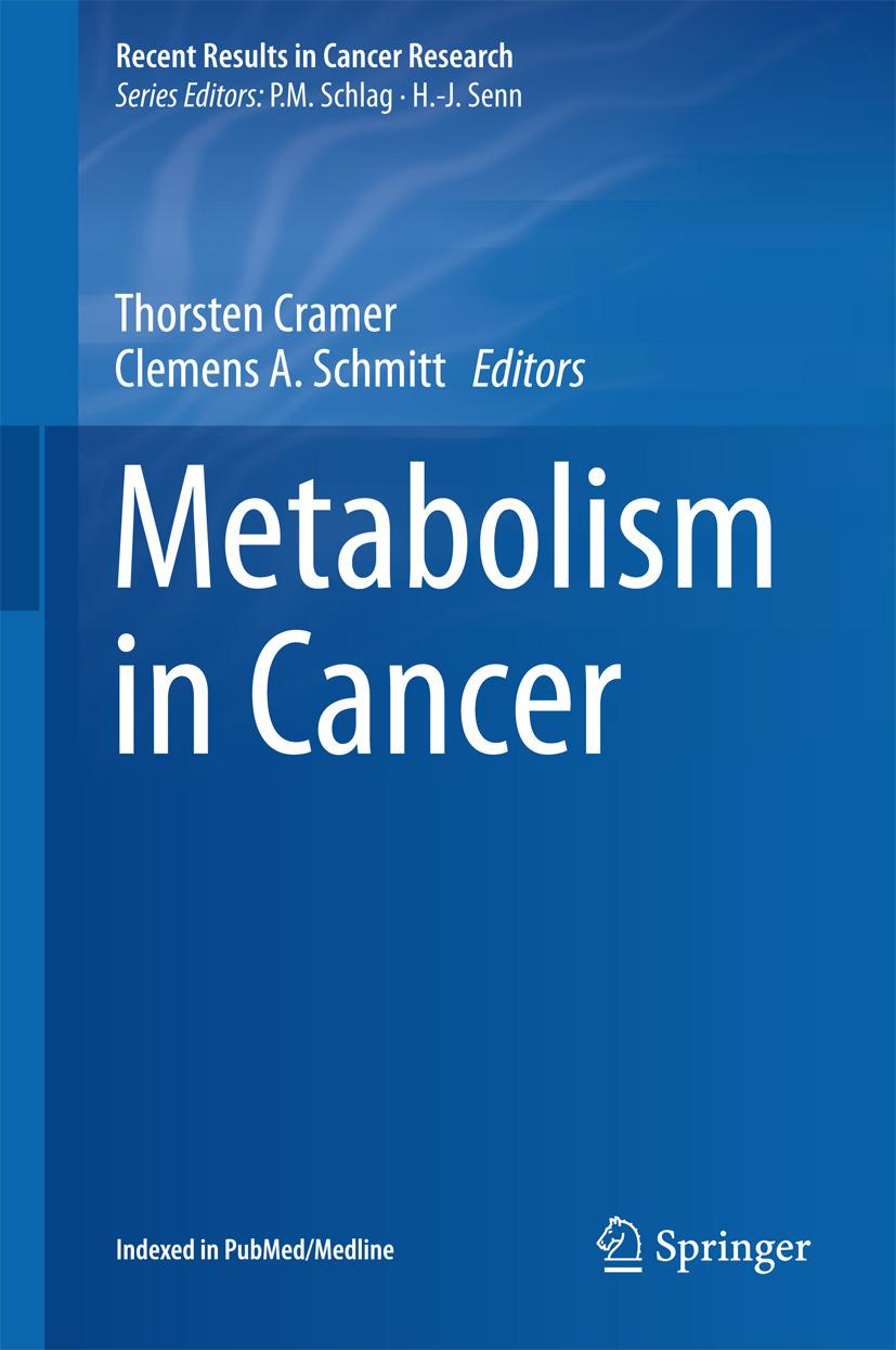 Cramer, Thorsten - Metabolism in Cancer, ebook