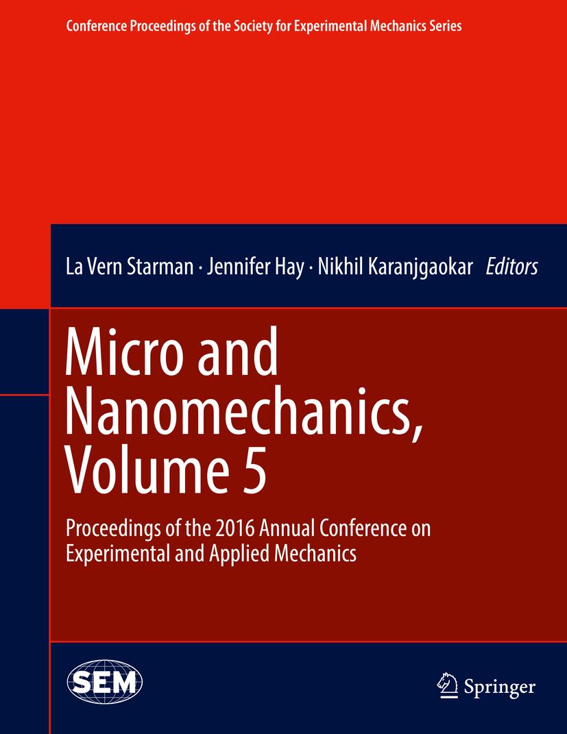 Hay, Jennifer - Micro and Nanomechanics, Volume 5, ebook