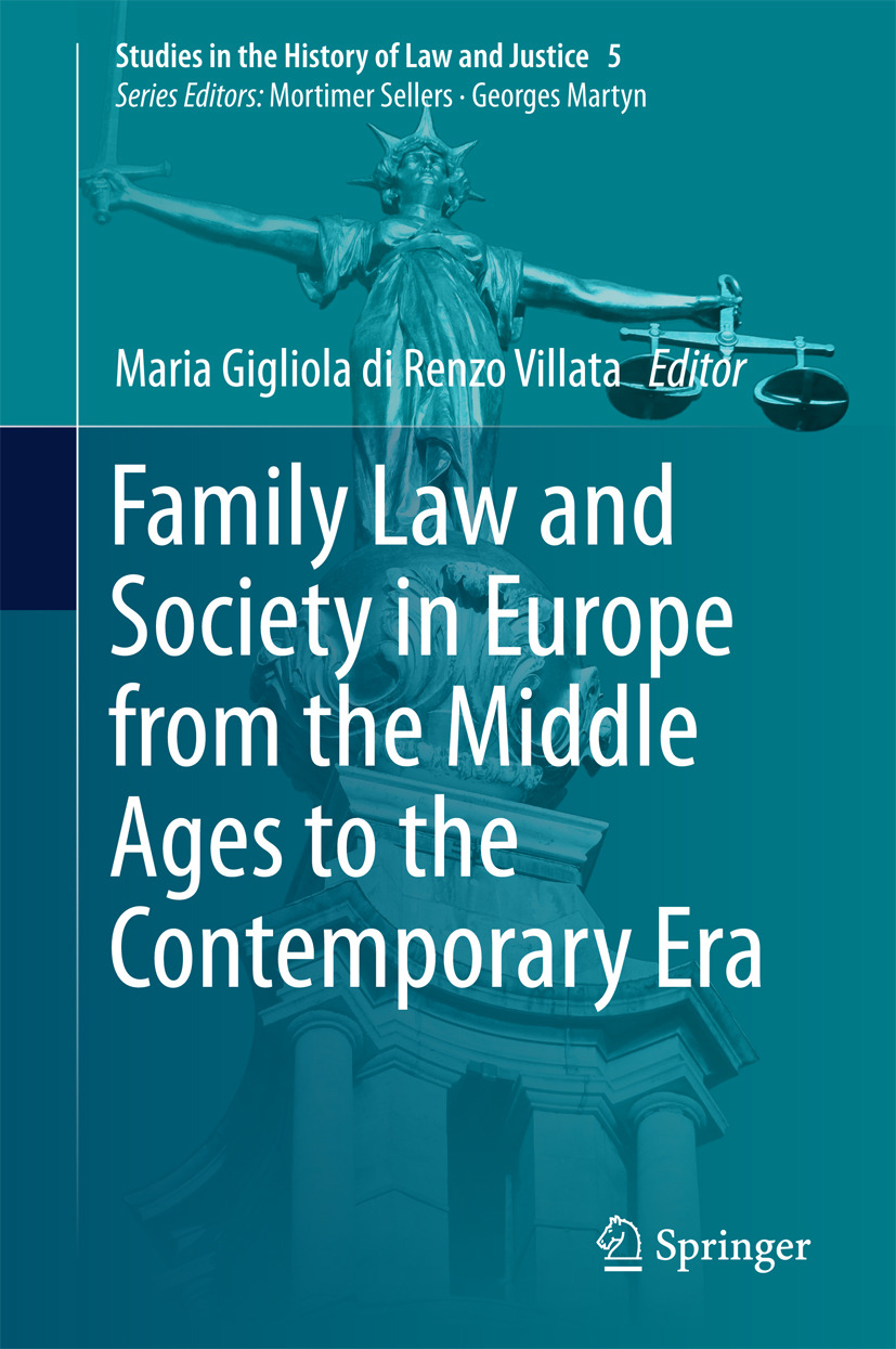 Villata, Maria Gigliola di Renzo - Family Law and Society in Europe from the Middle Ages to the Contemporary Era, ebook