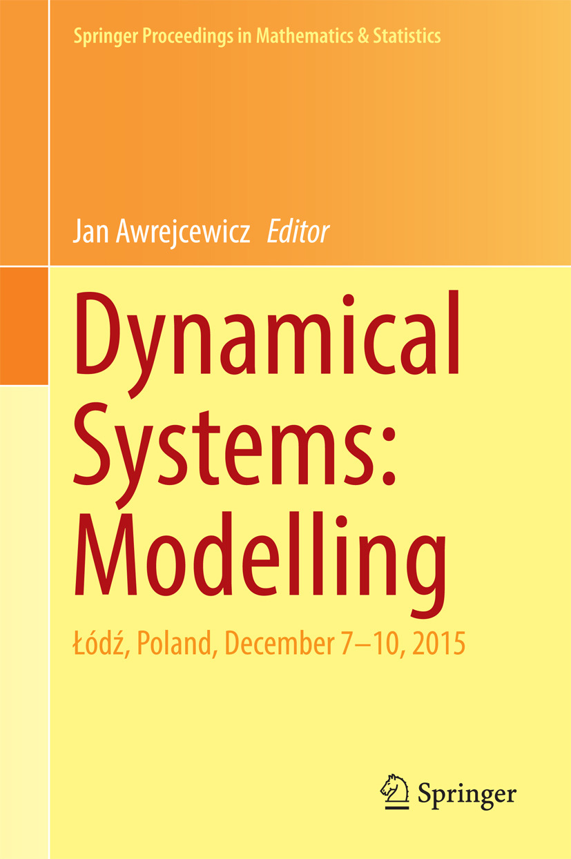 Awrejcewicz, Jan - Dynamical Systems: Modelling, ebook