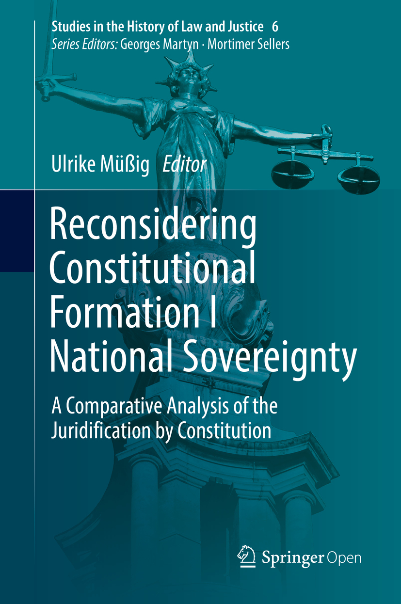 Müßig, Ulrike - Reconsidering Constitutional Formation I National Sovereignty, ebook