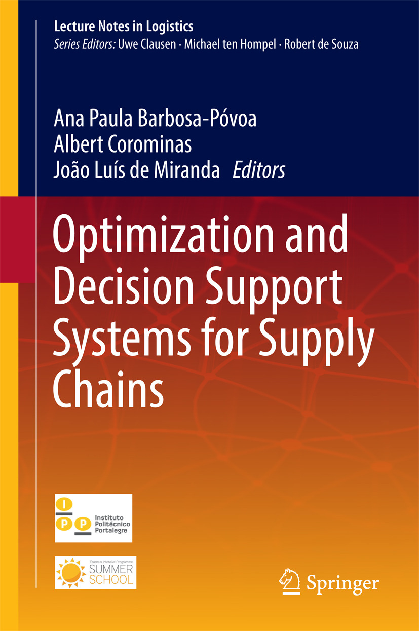 Corominas, Albert - Optimization and Decision Support Systems for Supply Chains, ebook