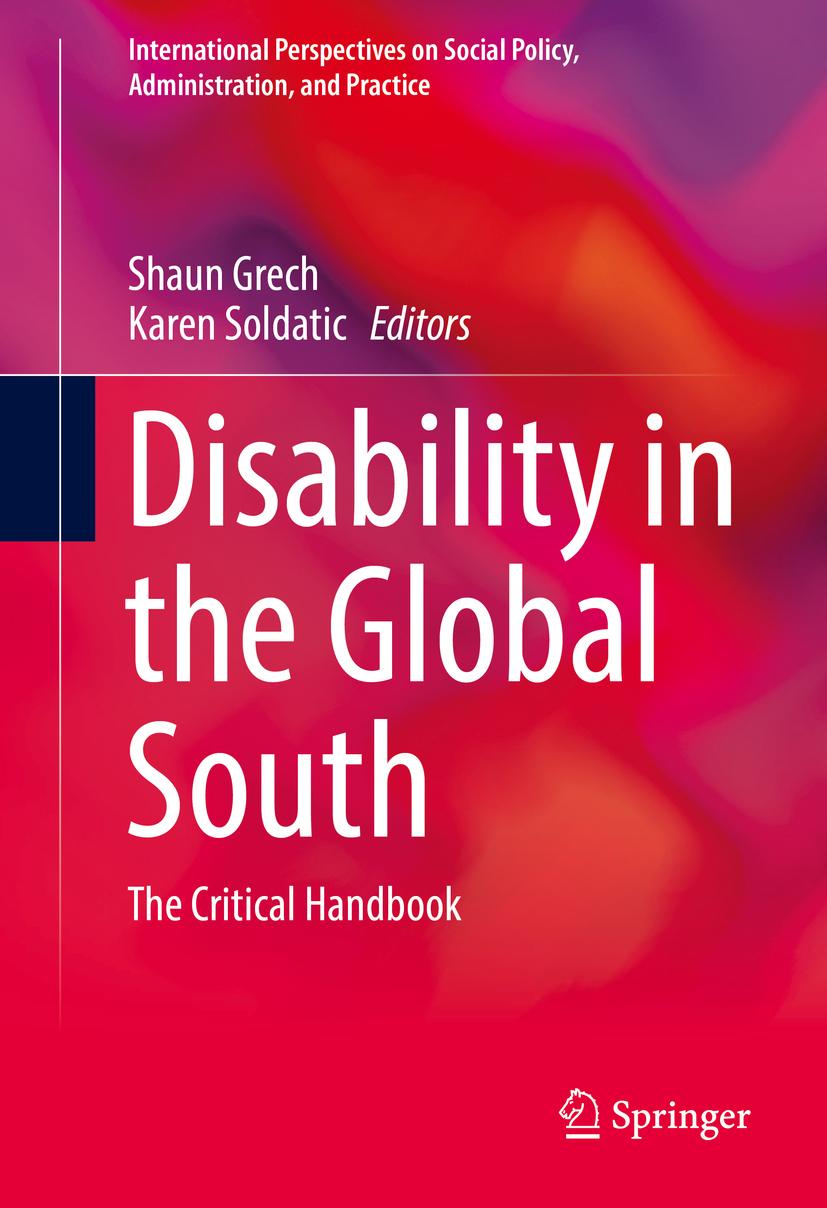 Grech, Shaun - Disability in the Global South, e-kirja