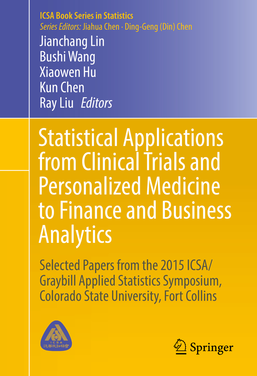 Chen, Kun - Statistical Applications from Clinical Trials and Personalized Medicine to Finance and Business Analytics, ebook