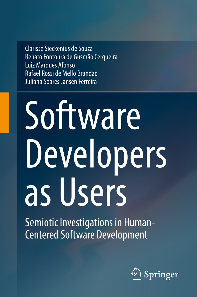 Afonso, Luiz Marques - Software Developers as Users, ebook