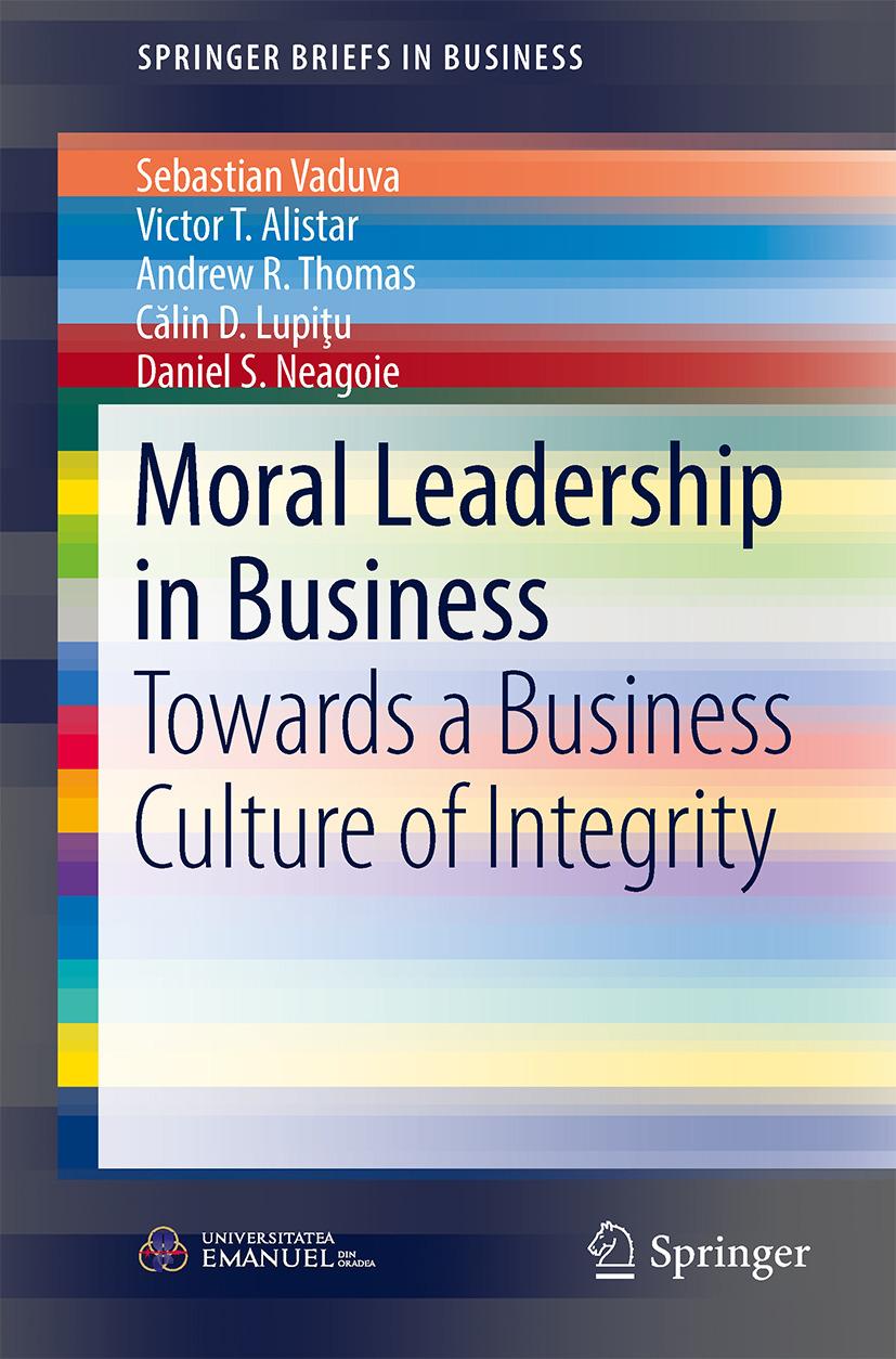 Alistar, Victor T. - Moral Leadership in Business, ebook