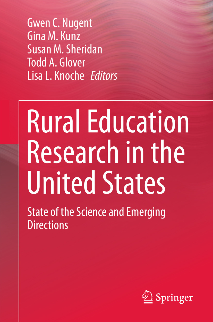 Glover, Todd A. - Rural Education Research in the United States, ebook