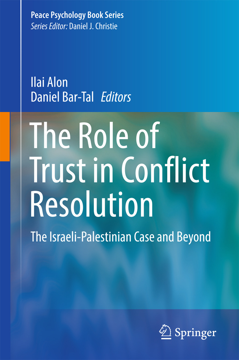Alon, Ilai - The Role of Trust in Conflict Resolution, e-kirja