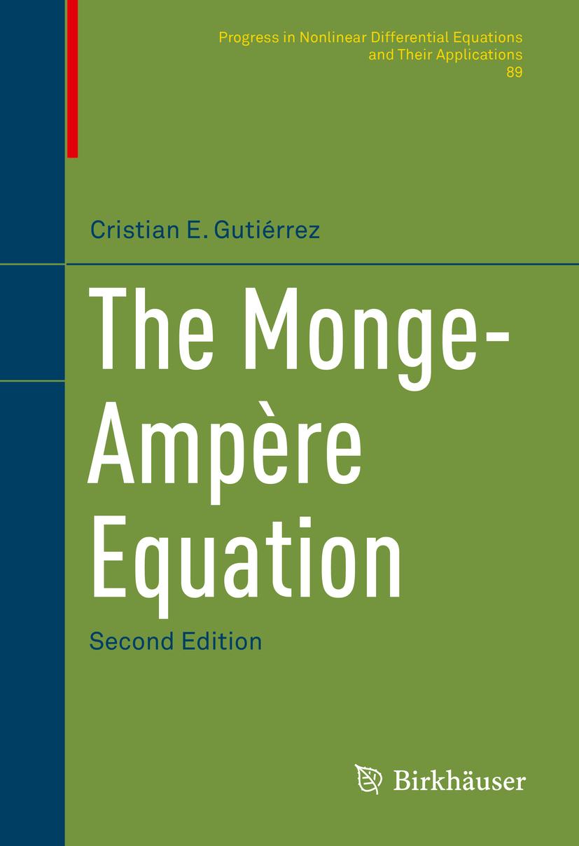Gutiérrez, Cristian E. - The Monge-Ampère Equation, ebook