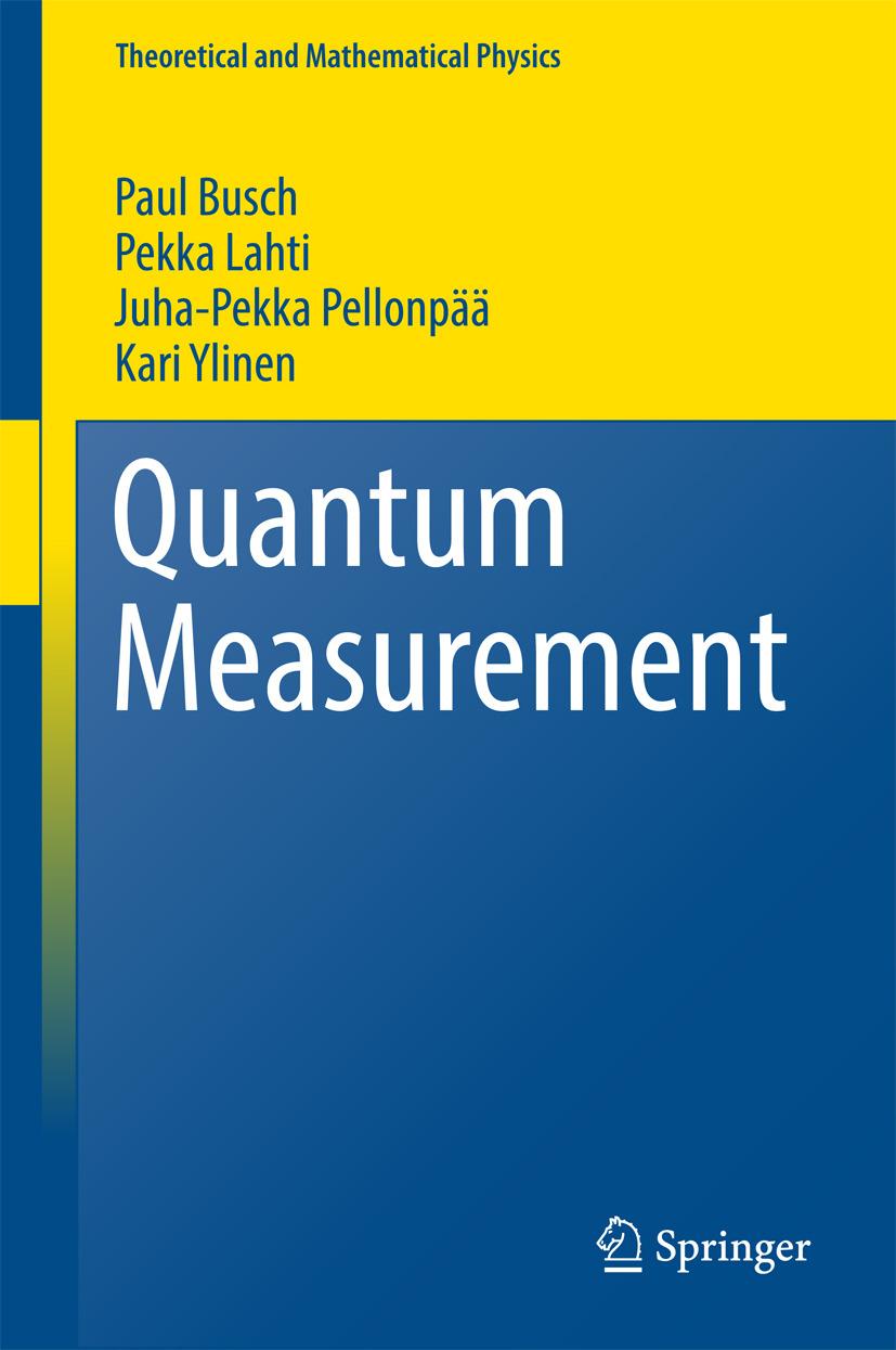 Busch, Paul - Quantum Measurement, ebook