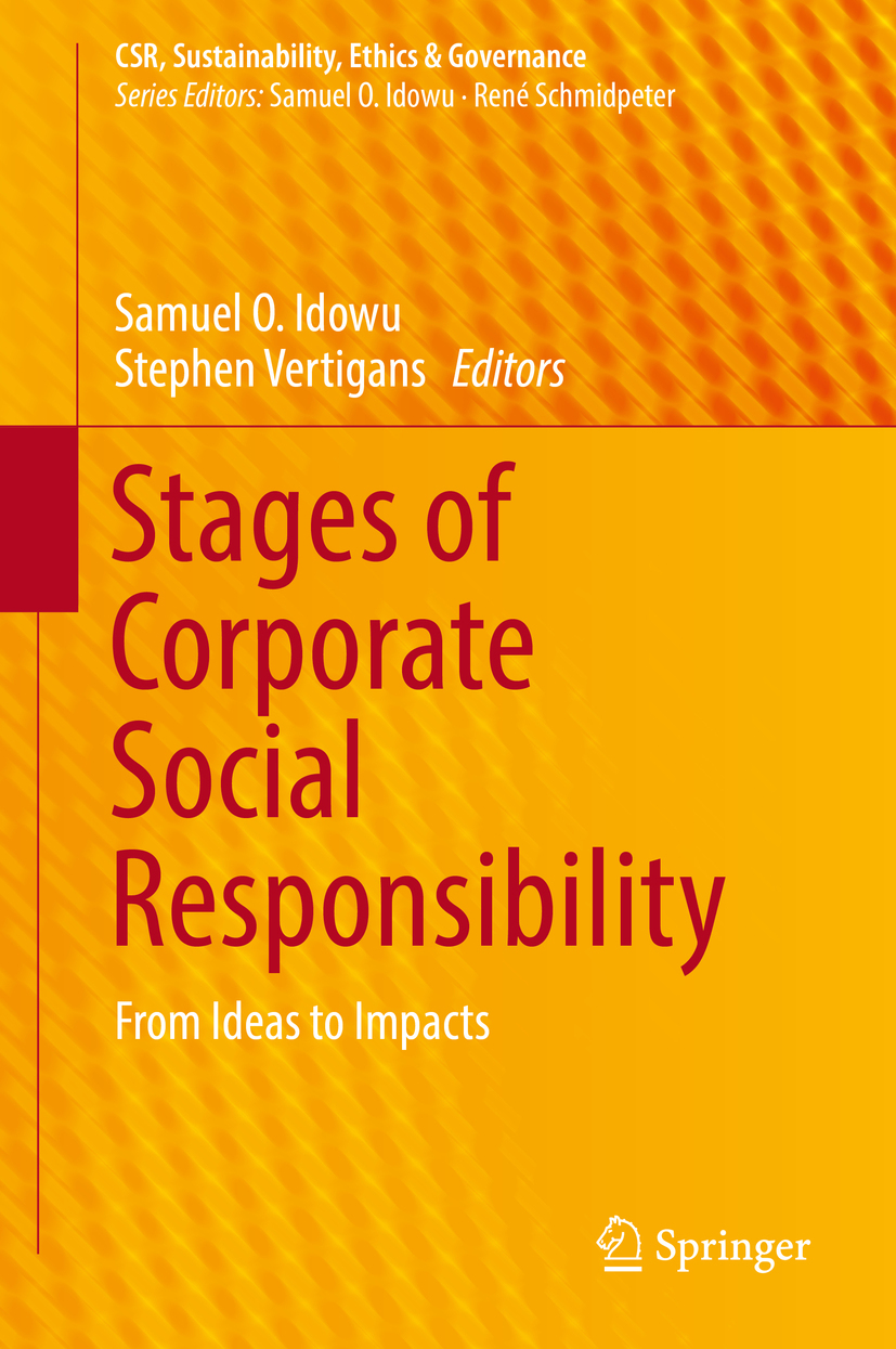 Idowu, Samuel O. - Stages of Corporate Social Responsibility, ebook