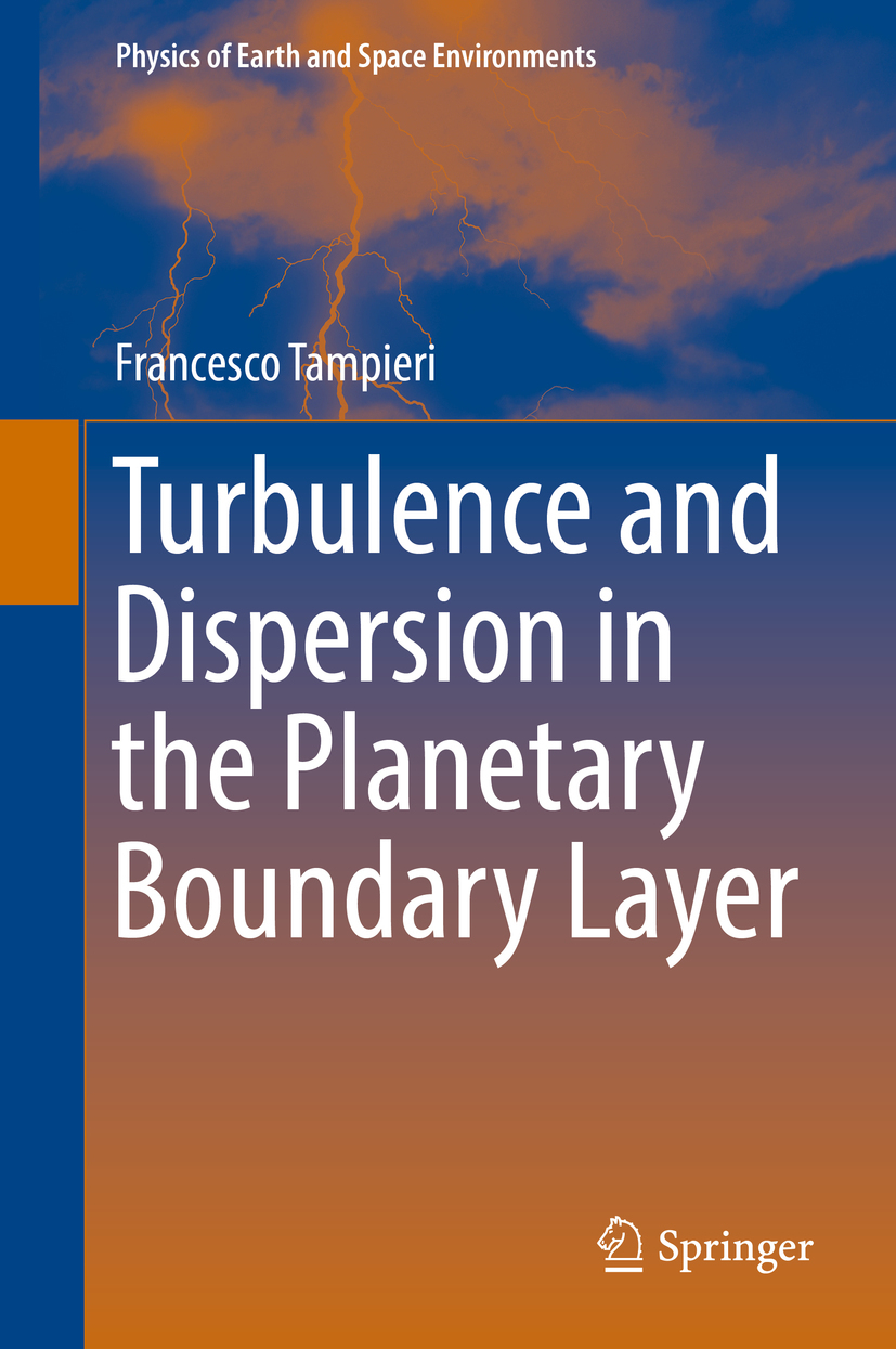Tampieri, Francesco - Turbulence and Dispersion in the Planetary Boundary Layer, ebook