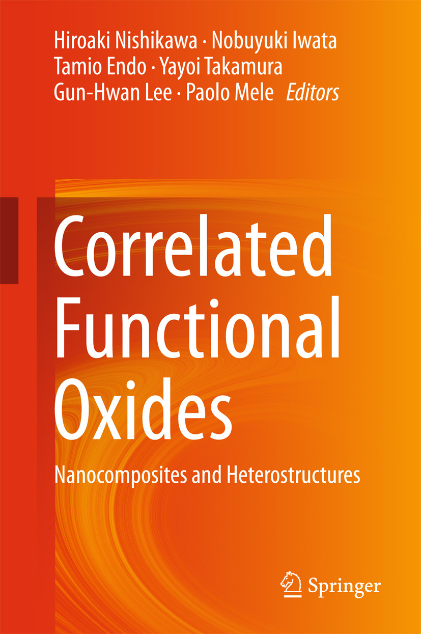 Endo, Tamio - Correlated Functional Oxides, ebook