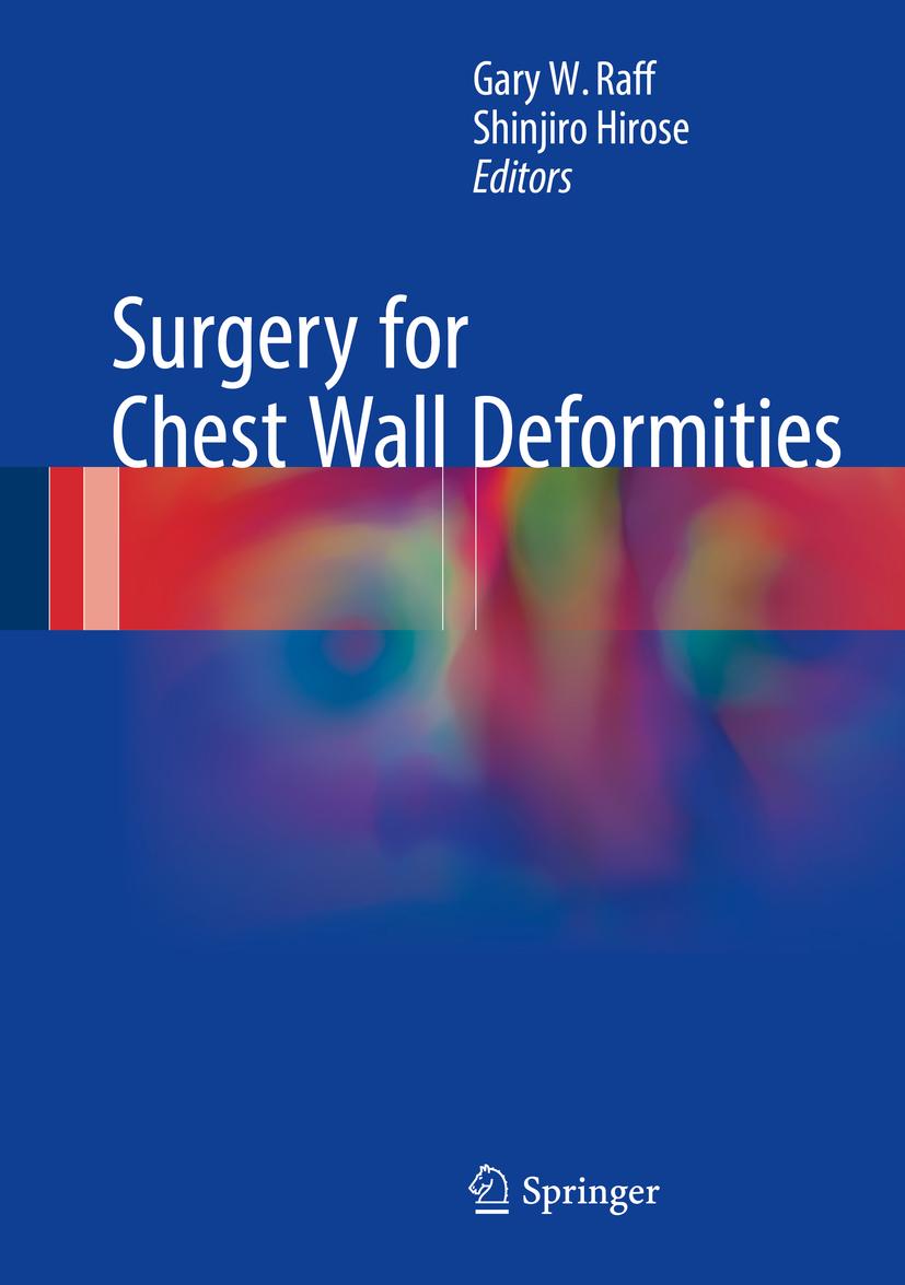 Hirose, Shinjiro - Surgery for Chest Wall Deformities, ebook