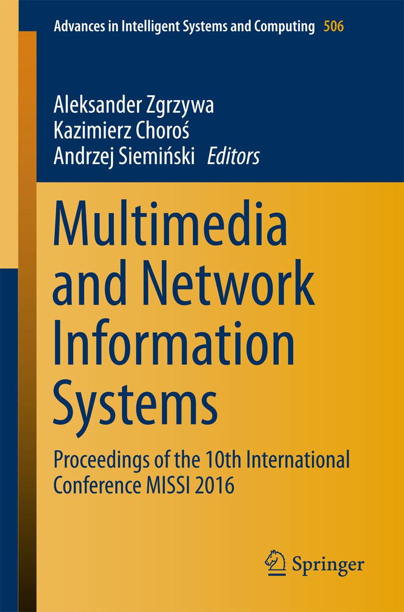 Choroś, Kazimierz - Multimedia and Network Information Systems, e-kirja