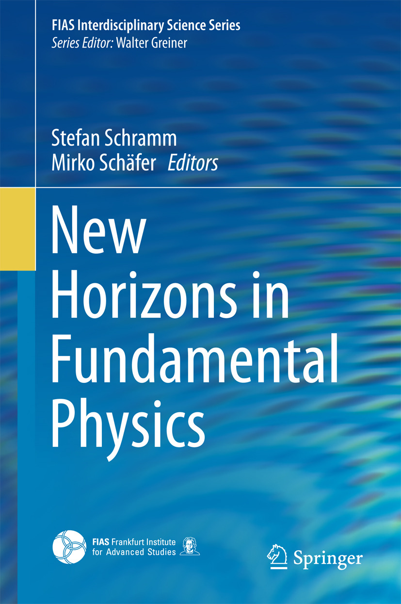Schramm, Stefan - New Horizons in Fundamental Physics, ebook