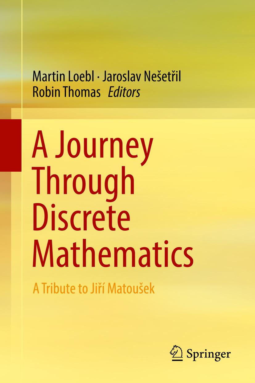 Loebl, Martin - A Journey Through Discrete Mathematics, ebook