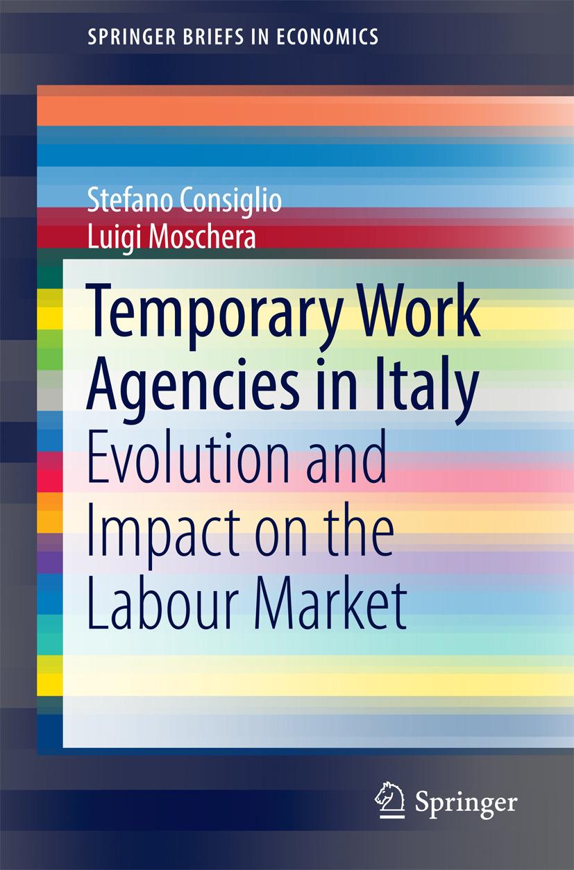 Consiglio, Stefano - Temporary Work Agencies in Italy, ebook