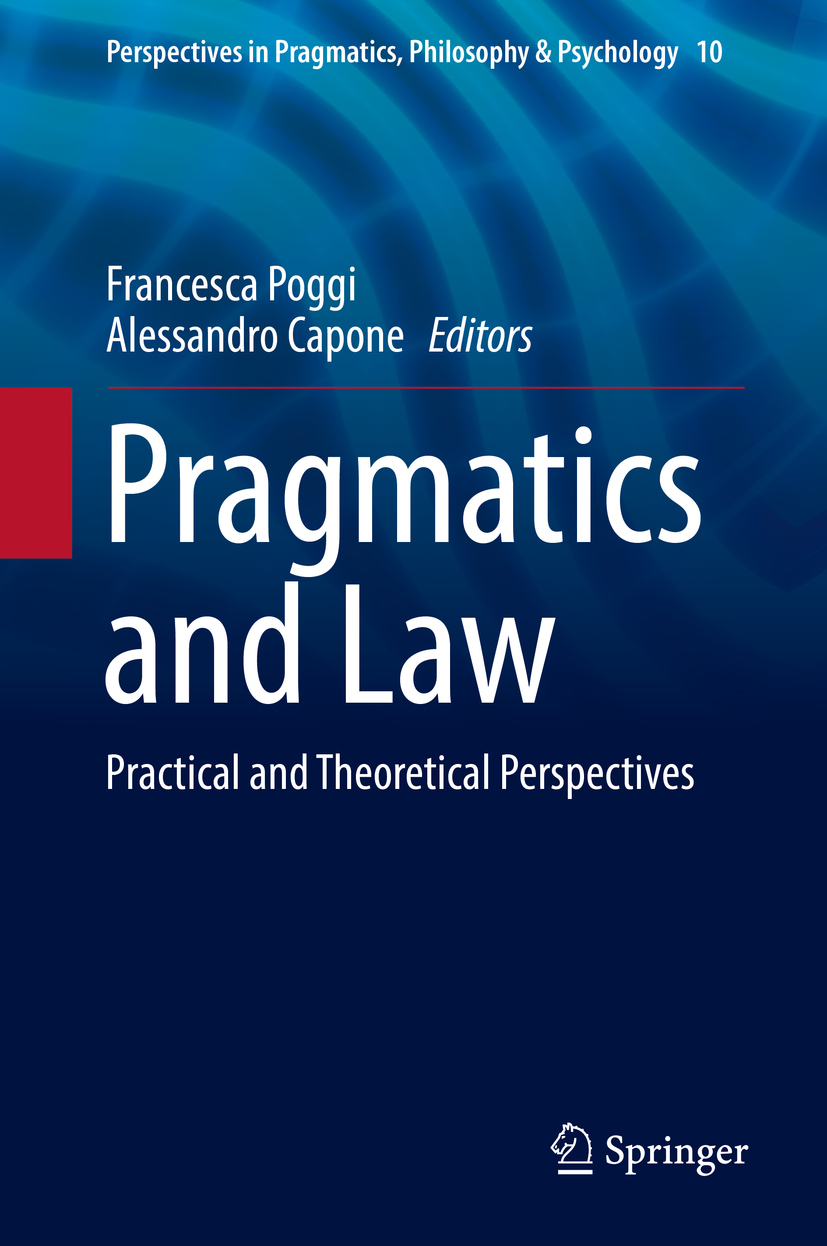 Capone, Alessandro - Pragmatics and Law, ebook