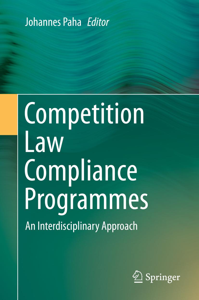 Paha, Johannes - Competition Law Compliance Programmes, ebook
