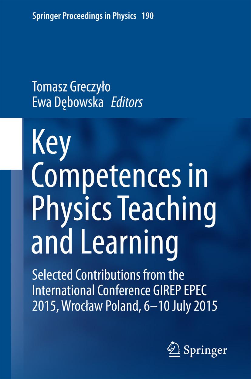 Dębowska, Ewa - Key Competences in Physics Teaching and Learning, ebook