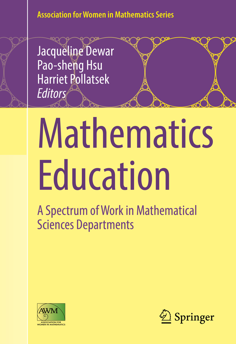 Dewar, Jacqueline - Mathematics Education, ebook