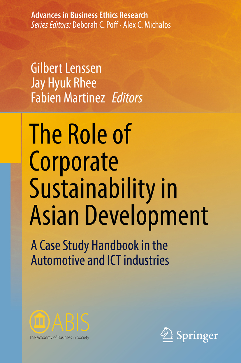 Lenssen, Gilbert - The Role of Corporate Sustainability in Asian Development, ebook