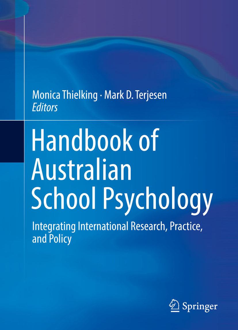 Terjesen, Mark D. - Handbook of Australian School Psychology, ebook