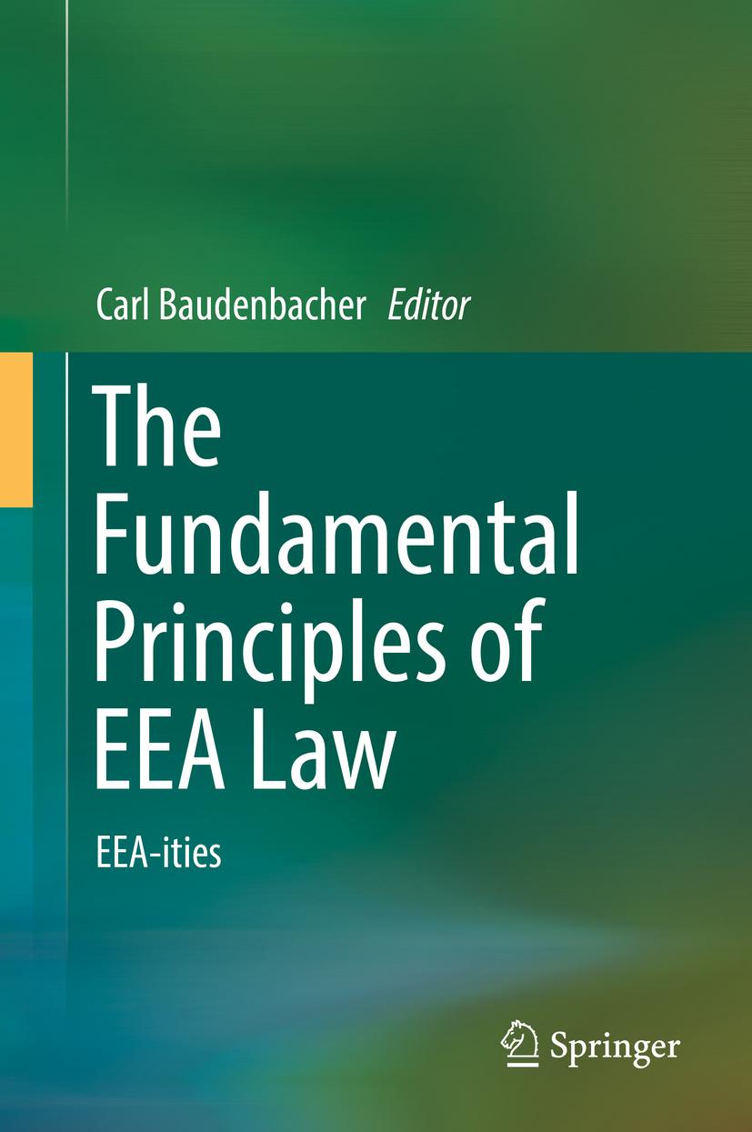 Baudenbacher, Carl - The Fundamental Principles of EEA Law, ebook