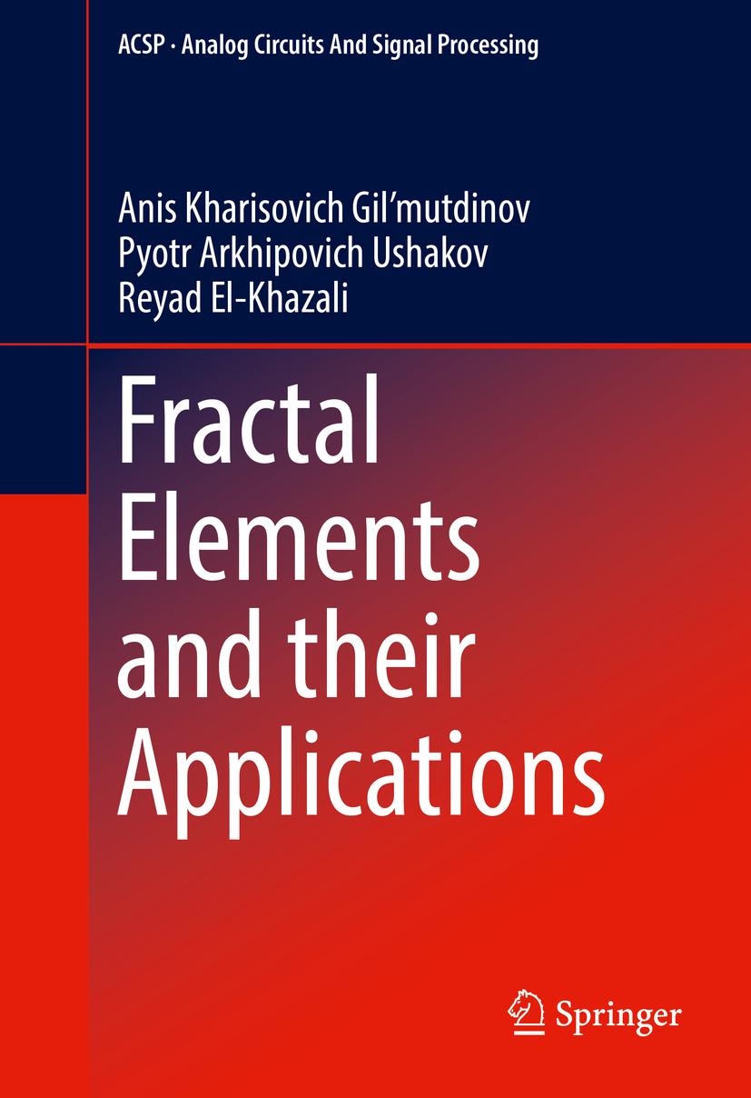 El-Khazali, Reyad - Fractal Elements and their Applications, ebook