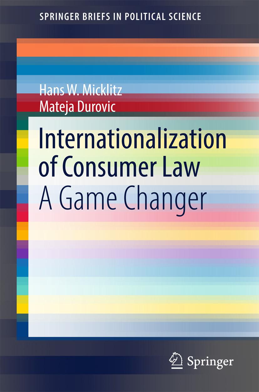 Durovic, Mateja - Internationalization of Consumer Law, ebook