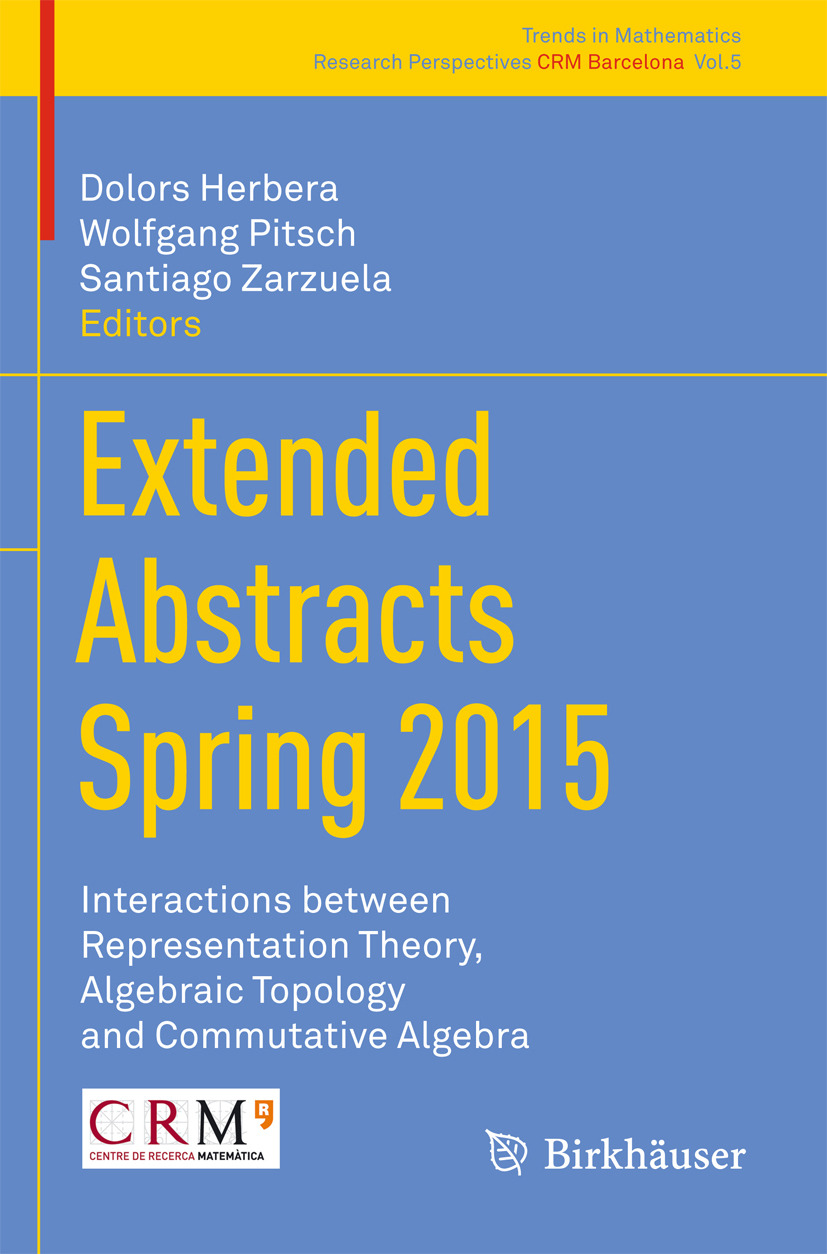 Herbera, Dolors - Extended Abstracts Spring 2015, ebook